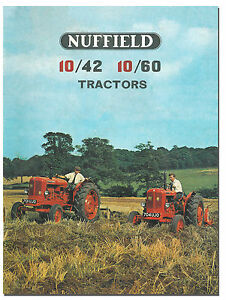 Nuffield-10-42-10-60-Tractor-Brochure-1960s