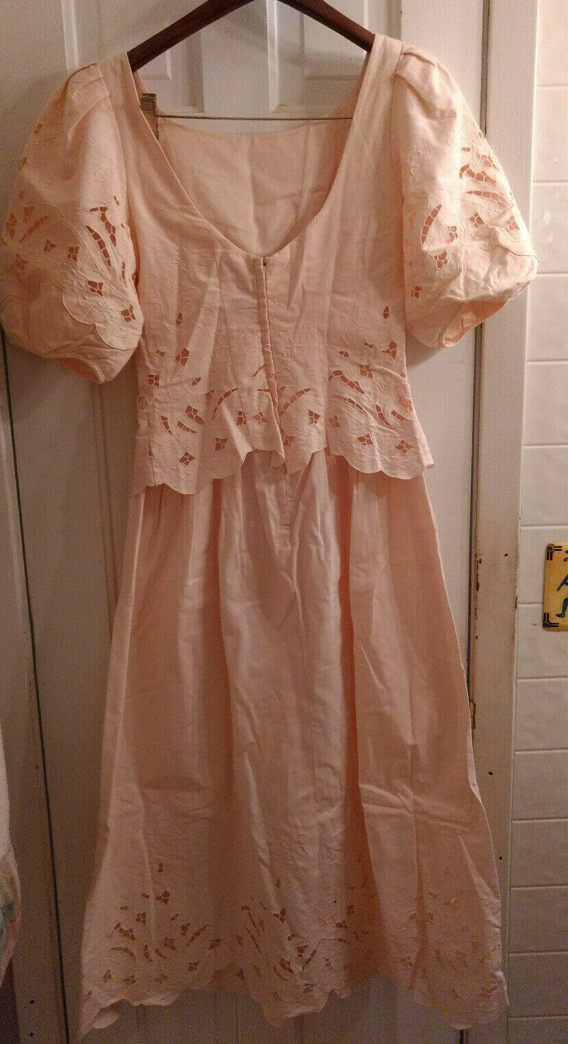 Vintage Marie St Claire 100% Cotton Embroidered C… - image 4