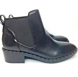 d35d015c983 Women's Luna Faux Leather Studded Welt Ankle Bootie - A New Day ...