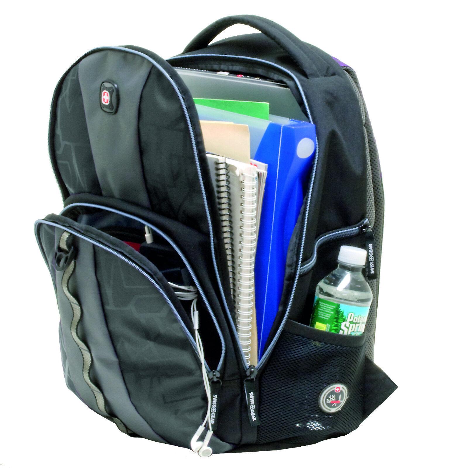 Schulbedarf Herbertz-wenger Schweizer Schulrucksack Laptop Rucksack Neu 31liter Schultasche Seien Sie Im Design Neu Ranzen, Taschen & Rucksäcke