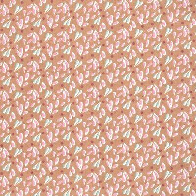 Forever Hada Floral-Caramel-Algodón Tela Confección Quilting