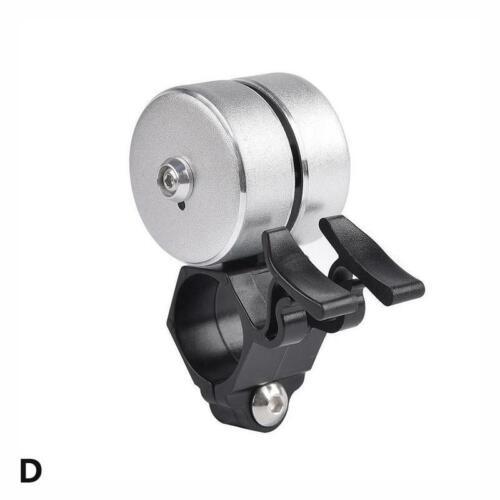 Sicherheit Radfahren Laut Fahrrad Ring 120DB Glocke Horn Doppelklingel Alarm im