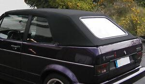 vw golf 1 cabrio capote cabriolet alpaga noir neuve ebay. Black Bedroom Furniture Sets. Home Design Ideas