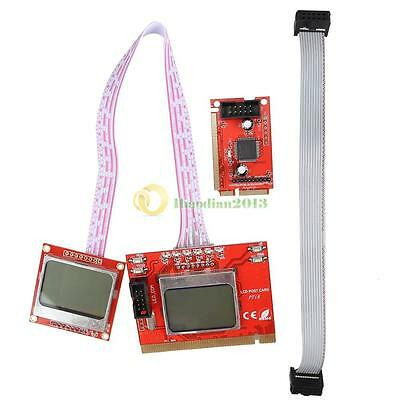 3in1 PCI Analyzer Diagnostic Post Test Card with LCD Screen for PC Laptop Tablet
