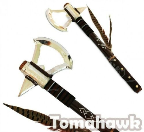 "17.5/"" Assassins Creed Tomahawk Connor/'s Axe Replica Collector Cosplay Video Game"
