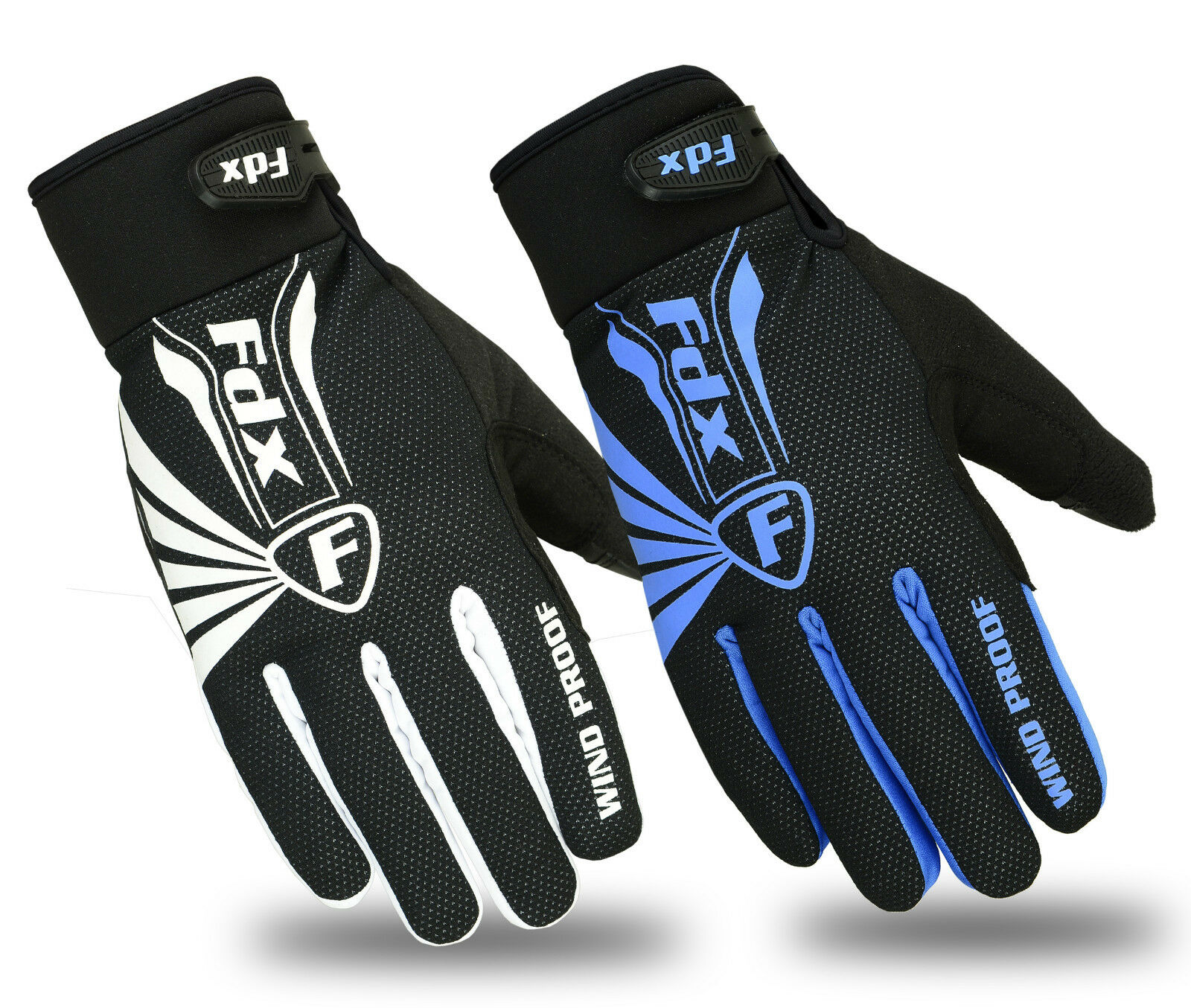 FDX Cycling Gloves Winter Cold Weather Windproof Full