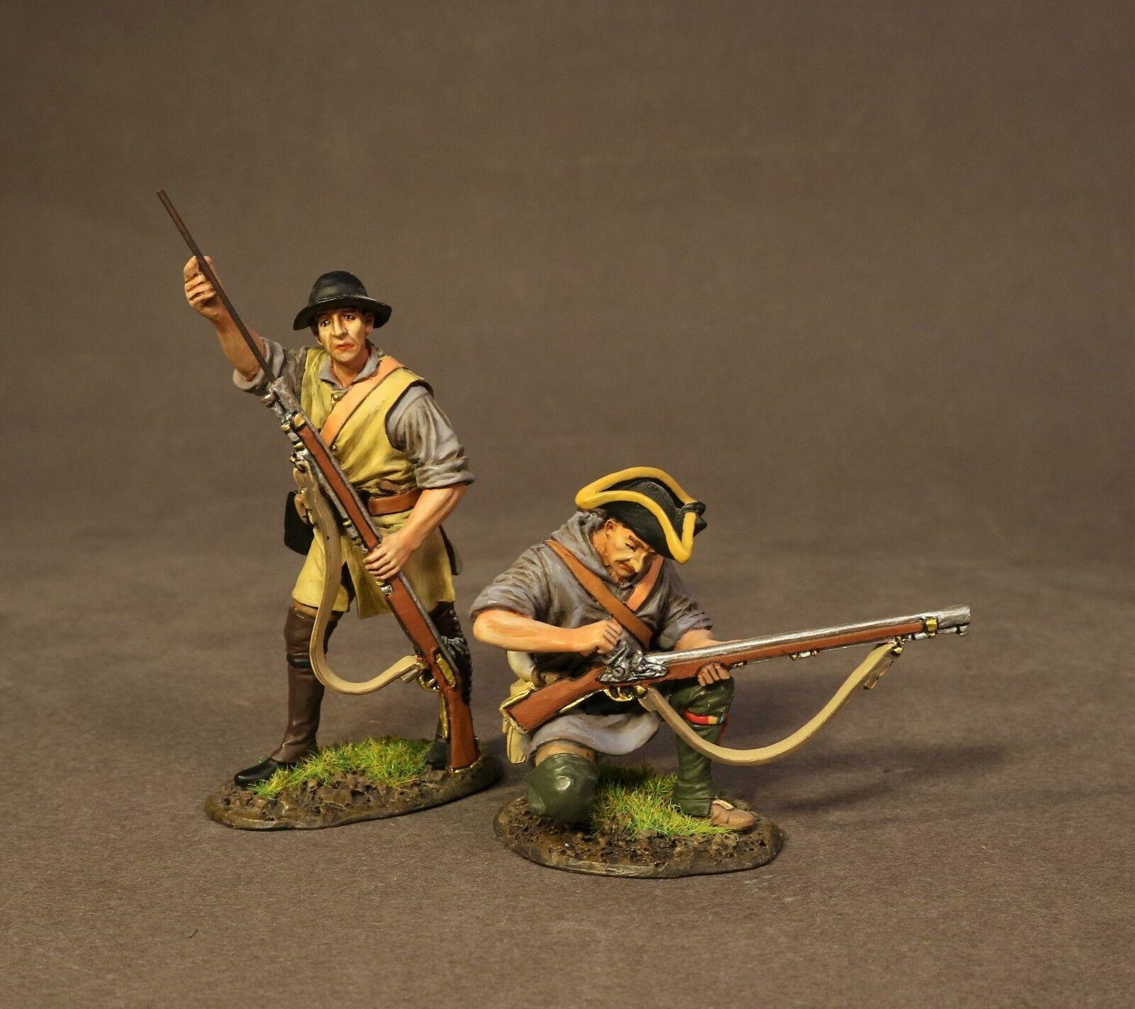 John Jenkins Trommeln entlang der Mohawk dam-06a zwei Colonial Pioniere