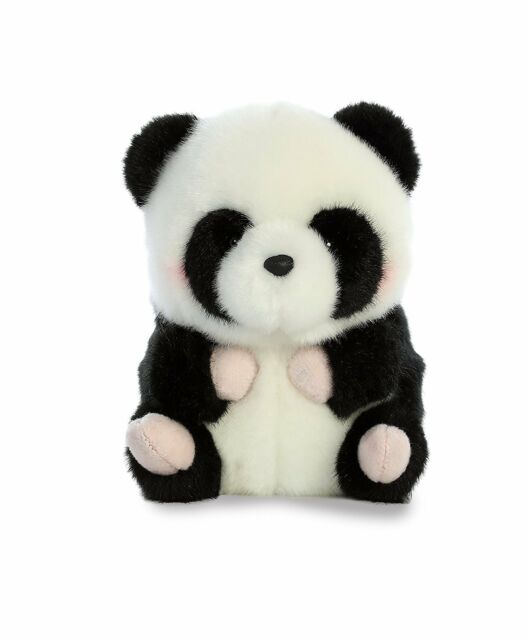 381fef22e740 Precious Panda Rolly Pet 5 Inch - Stuffed Animal by Aurora Plush for ...