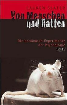 Von Menschen und Ratten: Die berühmten Experimente der P... | Buch | Zustand gut