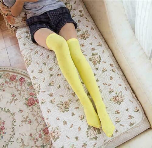 School Girl Knit Women Thigh Boot Knee High Over Extra Socks Stocking Long