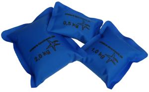 SOFTGewichte 0,5kg Tauchblei Gewichte zum Tauchen blau 2,5kg wie Softblei