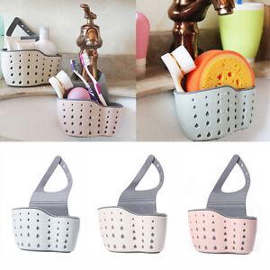 Nice-Kitchen-Sink-Sponge-Holder-Bathroom-Hanging-Strainer-Organizer-Rack-Drain