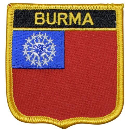 "Southeast Asia Iron on Naypyidaw 2.75/"" Bay of Bengal Myanmar Burma Patch"