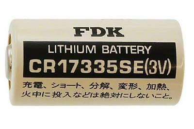 3 Pins FDK Sanyo CR14250SE-FT 3 Volt Lithium 1//2 AA Battery