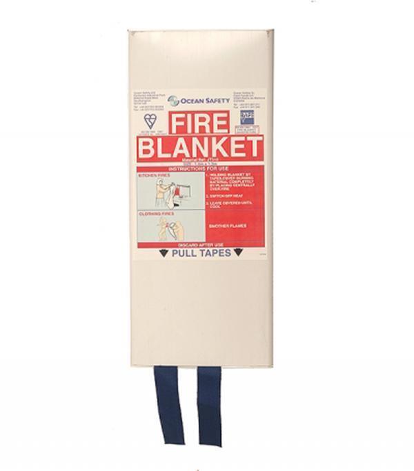 Fire Blanket 1.8m x 1.2m Ocean Safety