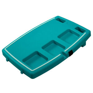Stupid-Car-Tray-Personal-Multi-Function-Food-amp-Drink-Travel-Organizer-Teal-Mint