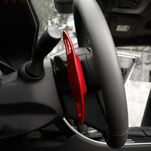 Red DSG Paddle Shifters Extensions 2pcs For Toyota Corolla E210 12th Gen 19-20