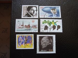 Germany-Rfa-Stamp-Yvert-and-Tellier-N-1423-A-1428-Obl-A3-Stamp-Germany