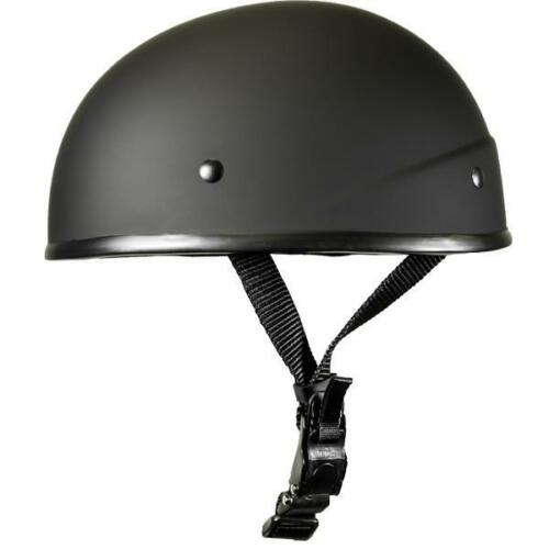 Crazy Al/'s WSB SLIM G LOW RIDER Smallest lightest DOT Beanie Helmet Matte Black