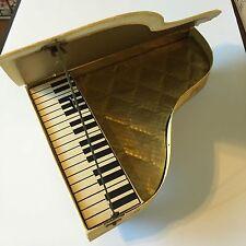 Vintage Trumpf Chocolate Piano Music Box Advertising W.Germany Cardboard