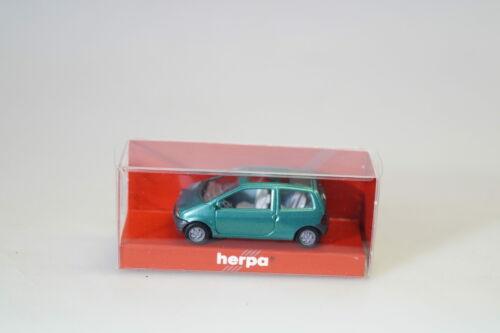 1:87 Herpa 031516 Renault Twingo grün-met.//Schiebedach neuw.//ovp
