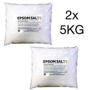 EPSOM SALT | 10KG BAG | Pharmaceutical | Food Grade | Magnesium Sulphate