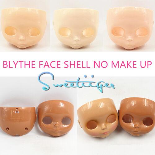 Takara 12 Neo Blythe RBL FACE SHELL no make up Factory Nude doll Custom parts