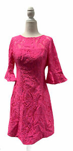 $278 NWT Lilly Pulitzer Allyson Dress Pink Tropics Size 00 FREE SHIPPING