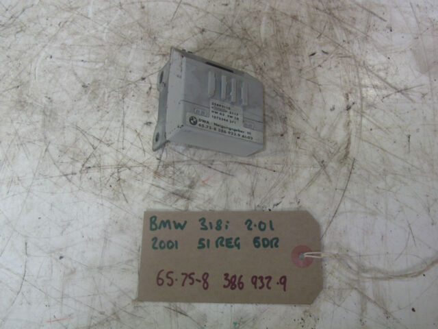 BMW E46 318i 2.0 4dr 2001 51 reg Alarm Tilt Module 65.75-8 386 932.9