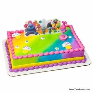 Image Is Loading Trolls Poppy Party CAKE Topper Decoration Birthday True