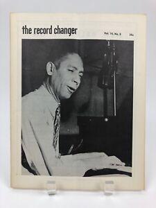 Vintage-June-1955-THE-RECORD-CHANGER-Rare-Jazz-Music-Magazine