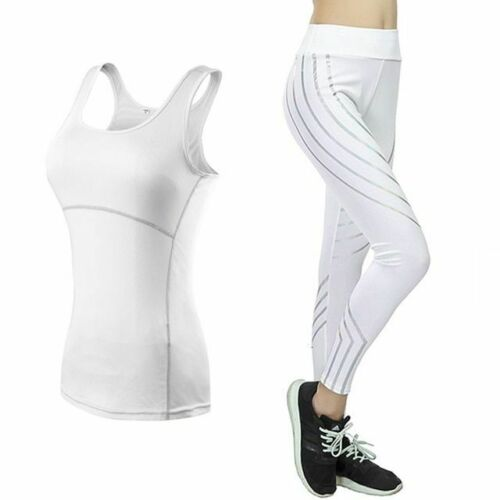 Details about  /Sportswear Brassiere Yoga Set Printed High Waist Leggings Fitness Gym Tracksuits