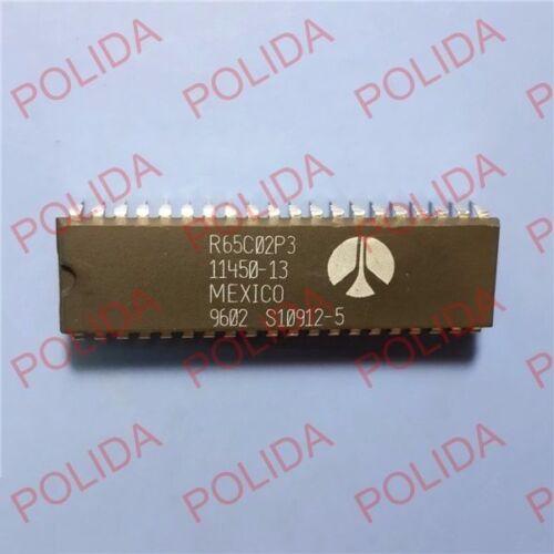 1PCS Microprocessor IC ROCKWELL DIP-40 R65C02P3 11450-13 R65C02P3E