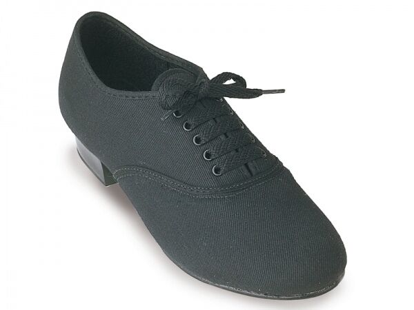 CHILDRENS/BOYS CANVAS TAP SHOE BLACK ALL SIZES NEW