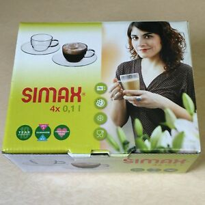 NEW, Simax Piccolo Espresso Cup with Sucer 2652/4242/4 ...