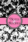 Blank Cookbook: Notes & Recipes: (Pink, Black, White) by Cool Journals (Paperback / softback, 2013)