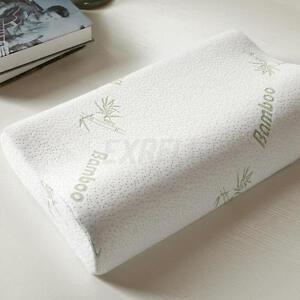 Super Soft Comfort Contour Orthopedic Bamboo Fiber Sleeping Memory Foam Pillows