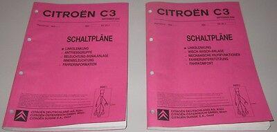 Gekwalificeerd Werkstatthandbuch Citroen C3 / C 3 Elektrische Schaltpläne September 2002