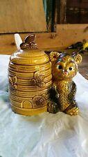 Vintage Armbee honey pot jar