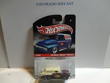 Hot Wheels Slick Rides Tan/Brown '56 Chevy Nomad Delivery Wagon