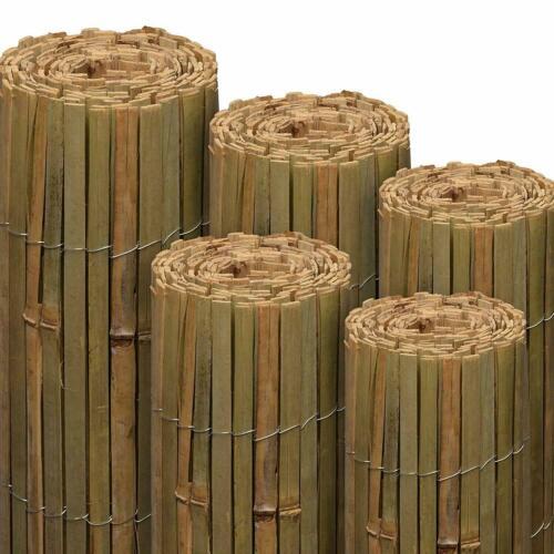 Garden Bamboo Fence Slat Screening Slatted Privacy Shield Wind//Sun Protraction