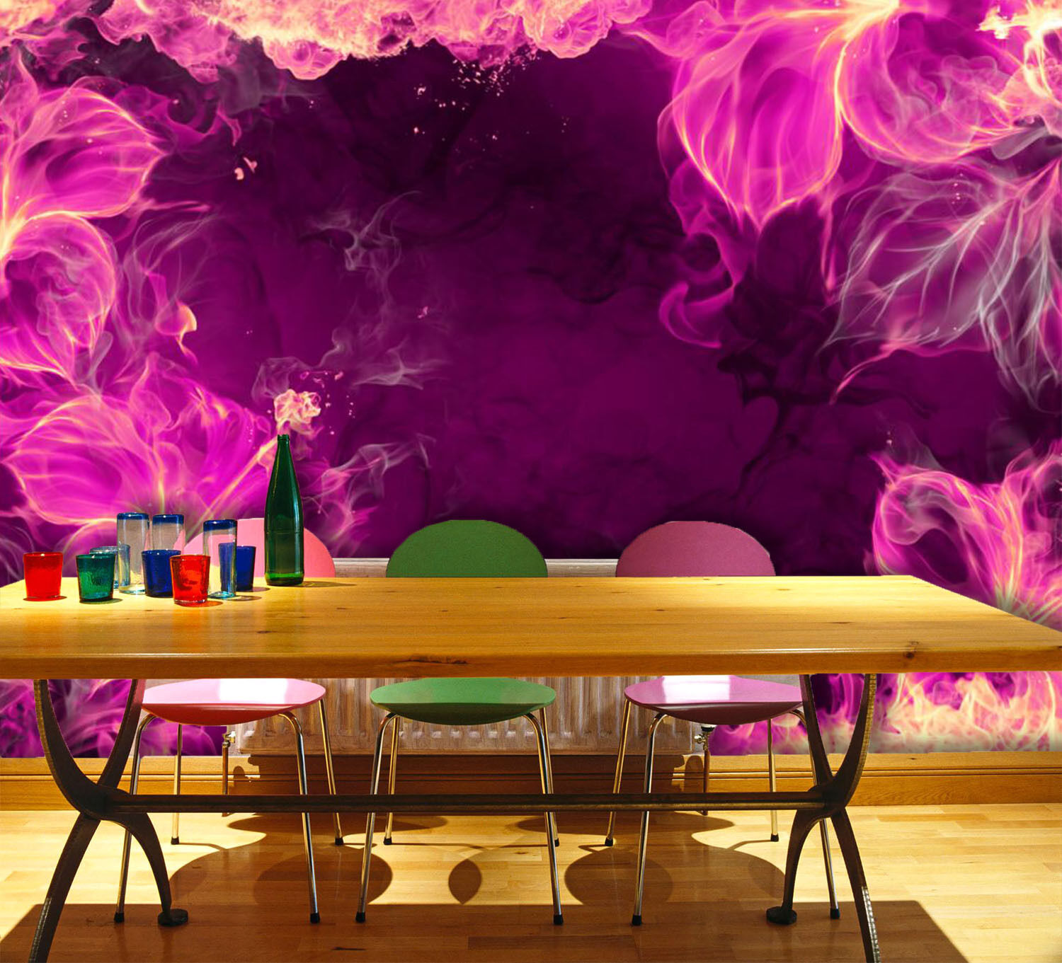 3D Flowery Art 292 Wall Paper Wall Print Decal Wall Deco Indoor Wall