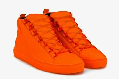 Balenciaga Arena Leather High top Baskets shoes chaussures trainers Distressed 39   eBay