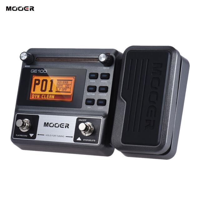 MOOER Guitar Multi-effect Processor Effect Pedal Loop Recording Professinal J3Q8