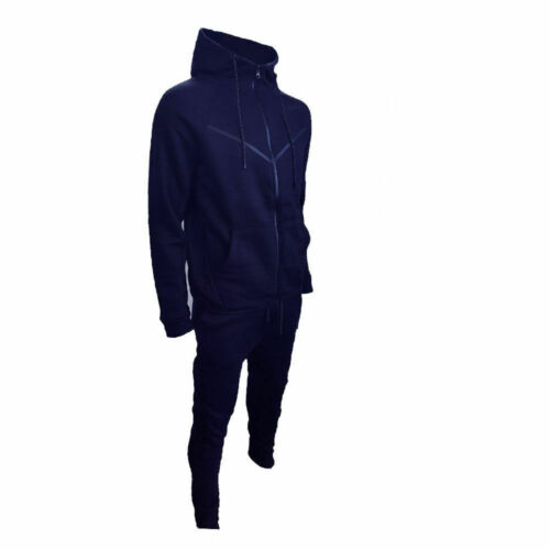 Neu Herren V Form Design Trainingsanzug Slim Fit Jogginghose Hose Top