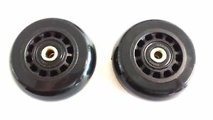 Details about Replacement Hartmann Roller Wheels, 2 Axles and 2 Wheels  included