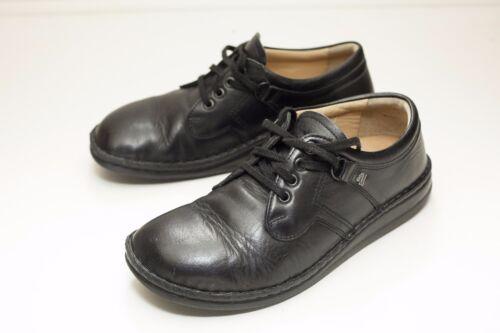 Finn Comfort 7 Black Oxford Women's Shoes EU 38