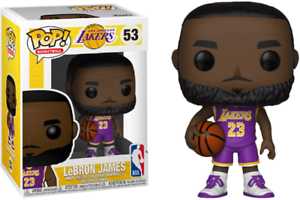 LeBron James L.A. Lakers EXCLUSIVE FUNKO Pop Vinyl Figure (READY TO POST)