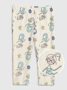 New Girls Baby Gap Blue Mermaid Starfish Bubble Shorts Size 4t