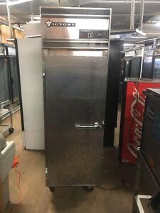 Image is loading Victory-RA-1D-S7-Single-Door-Refrigerator-Stainless- & Victory RA-1D-S7 Single Door Refrigerator Stainless Used Cooler | eBay